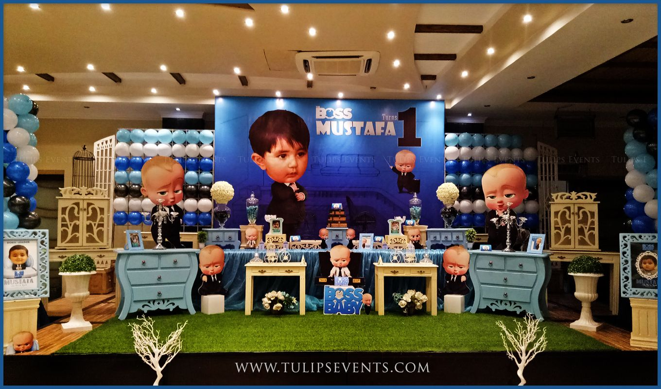 BOSS Baby Party Decor ideas by Tulips Events in Pakistan ...