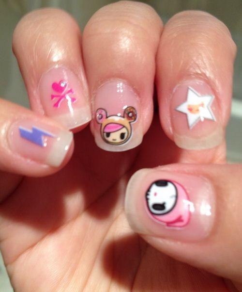 Cute Nail Art Stickers For Kids Fashion Pinterest Nail Art