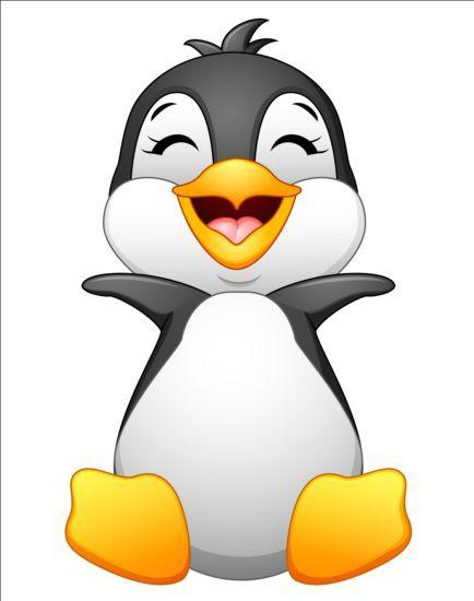 Lovely Penguin Cartoon Set Vectors 03 Https Gooloc Com Lovely Penguin Cartoon Set Vectors 03 Utm Source Pn Utm M Penguin Cartoon Penguins Cartoon Clip Art