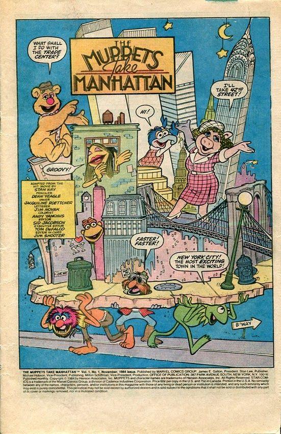 The Muppets Take Manhattan Comic Book