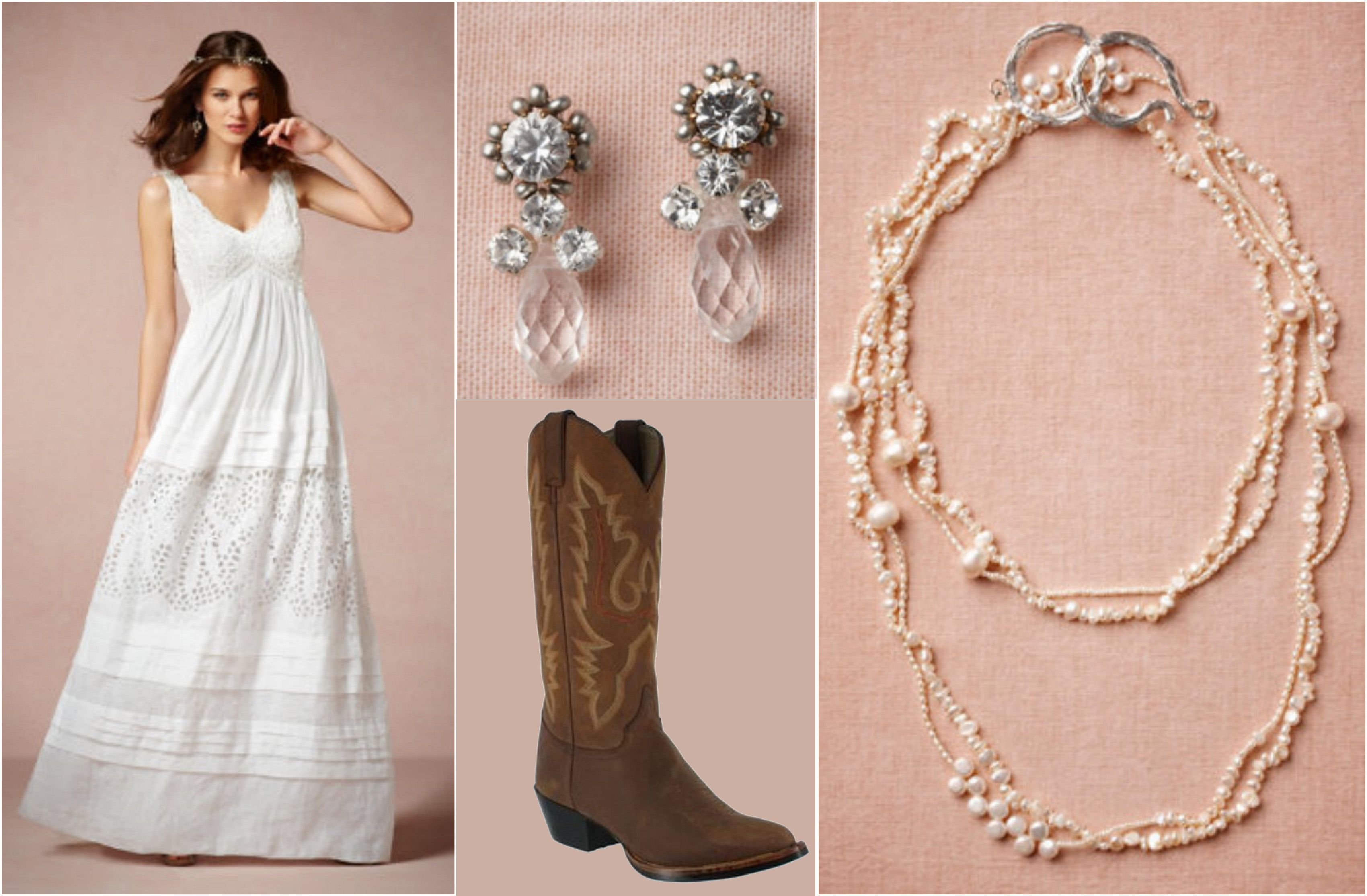 Ask Maggie Wedding Dress With Cowboy Boots Rustic Chic