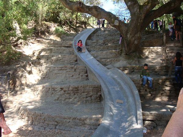 Cement Slide Berkeley Parks And Recreation Slide Concrete Pool
