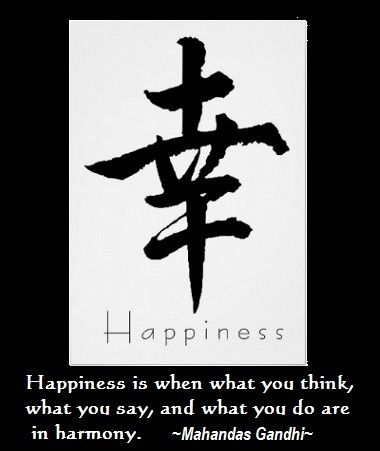 Happiness Quotes Chiness Word Chinese Symbols Happiness And Symbols