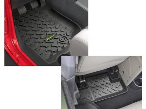 Jeep floor mats,2004 front only quadratic, not best top, the generic
