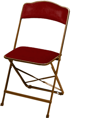 A Fritz and Company Folding Chairs High Quality Flat Folding