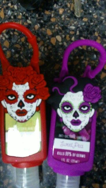 Dia De Los Muertos Hand Sanitizers Lunch Box Skull