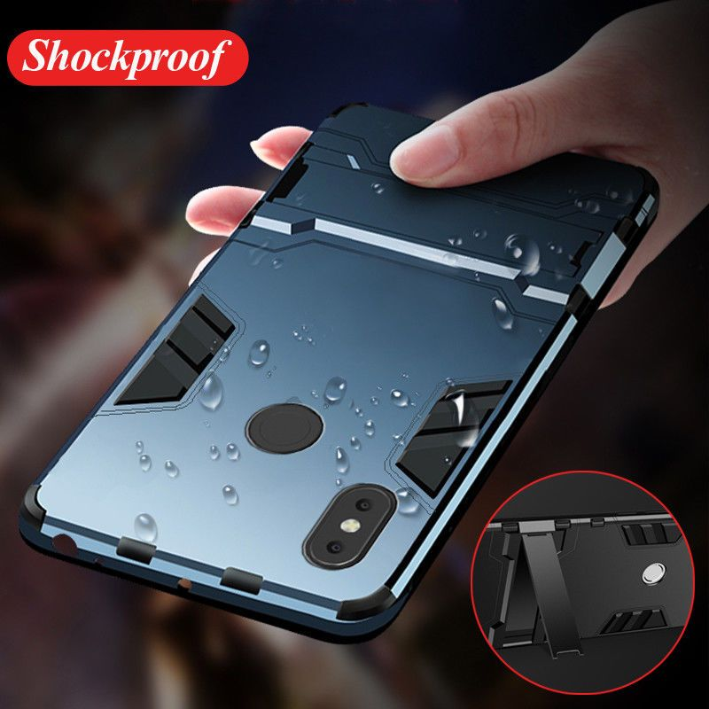 best website 44973 c5559 $1.09 - For Xiaomi Redmi Note 5 Pro Mix 2S Hybrid Armor Shockproof ...