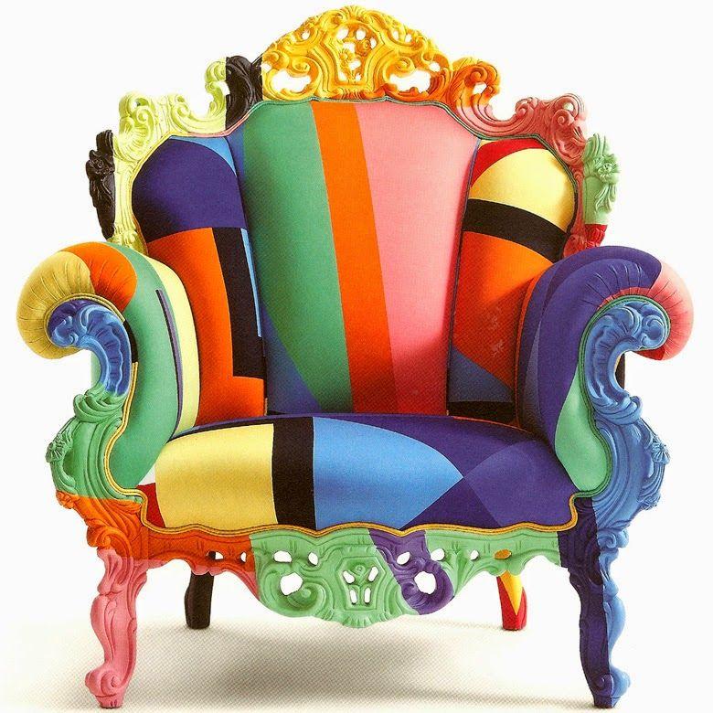 Poltrona di Proust, alessandro mendini, postmodern art, armchair, postmodern furniture