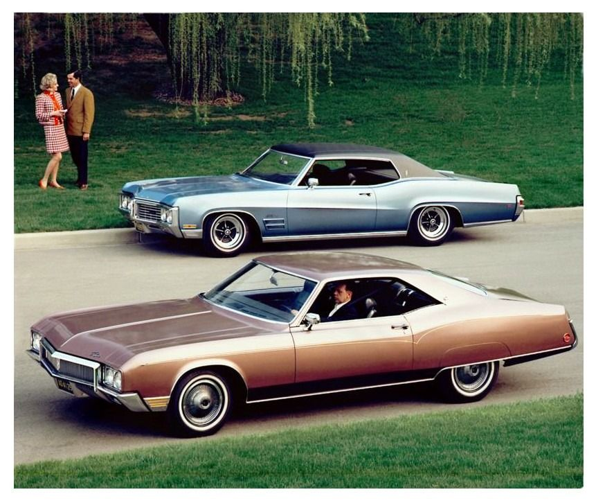 1970 Buick Riviera and Wildcat coupe Buick, Classic cars