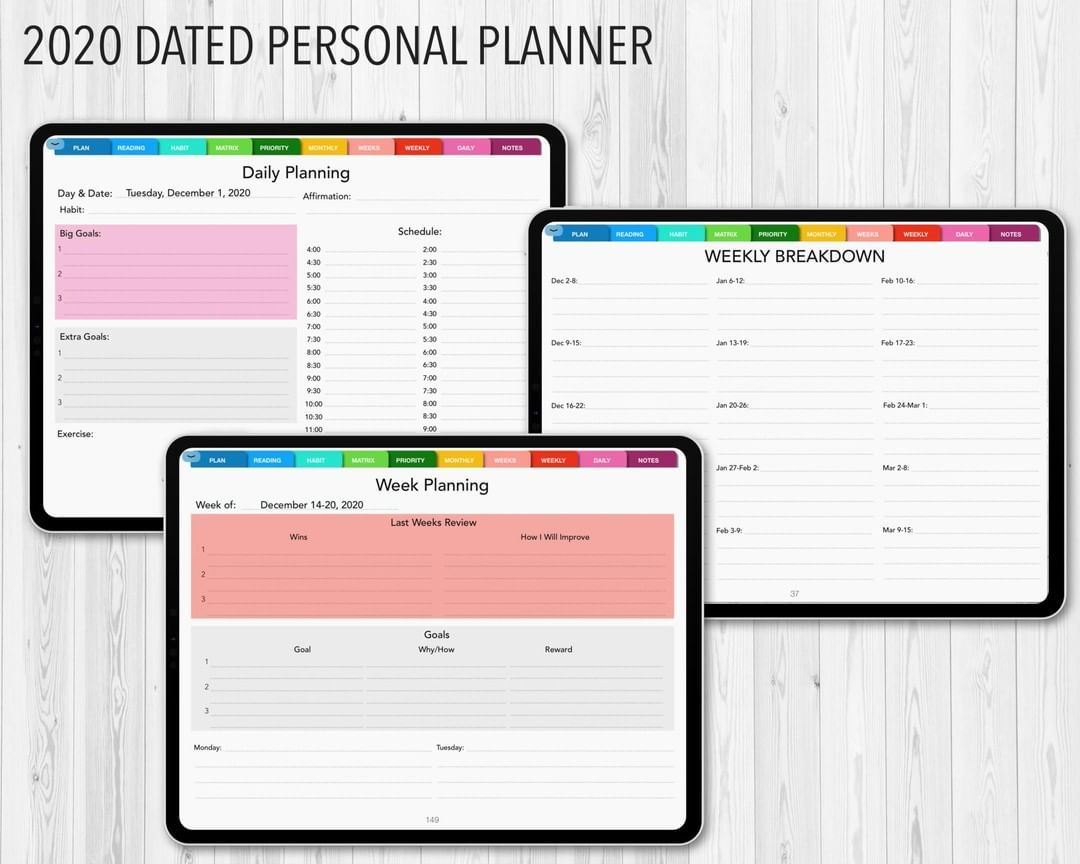 Bosspersonalplanner Posted To Instagram Pdf Digital Planner For Goodnotes Notability Or Similar Apps Boss Persona In 2020 Personal Planner Digital Planner Planner