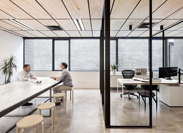 Office Space, Modern Office,architecture, Clare Cousins