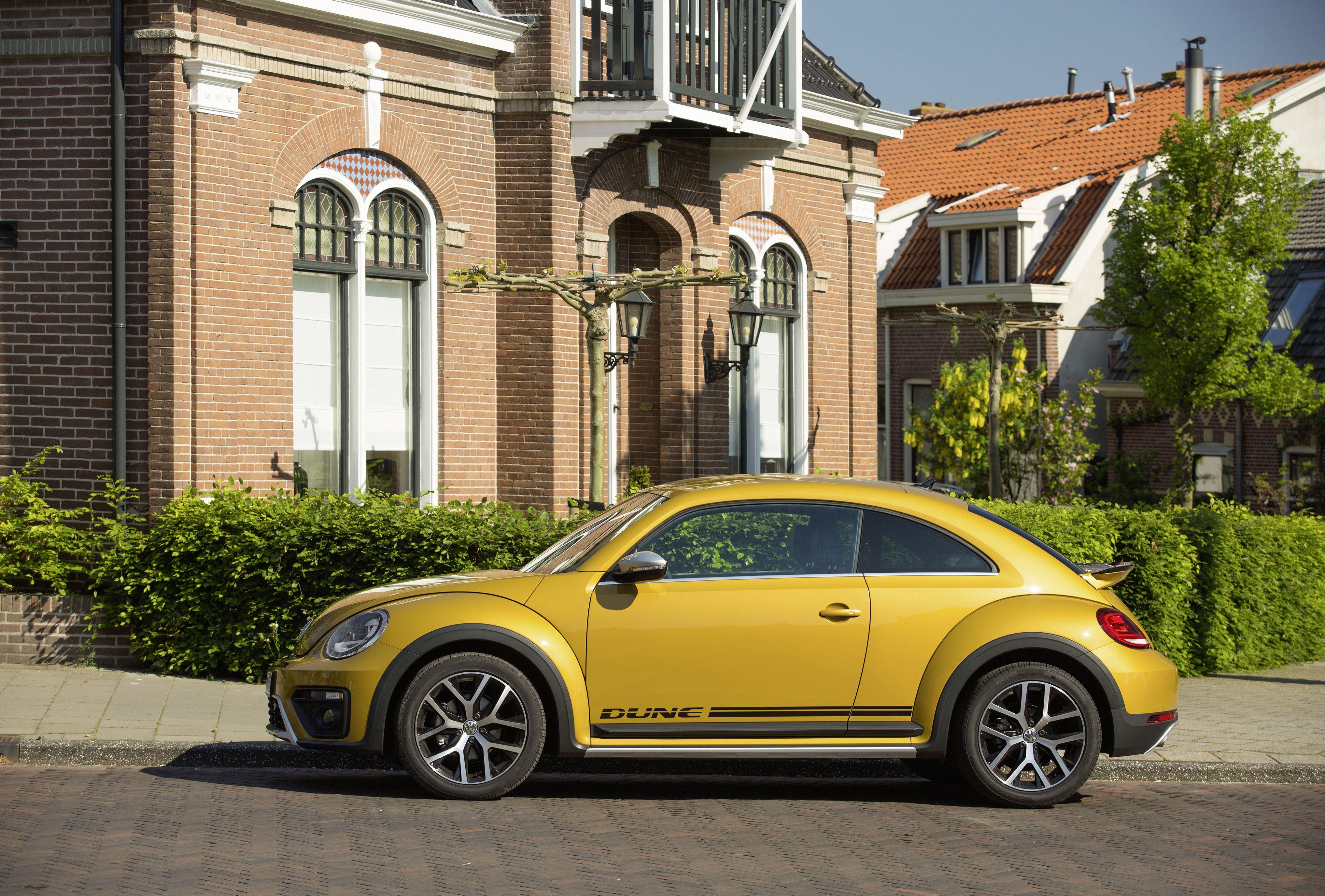 Herbie on steroids: prijzen Volkswagen Beetle Dune