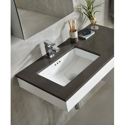 Pin By Rosemeire Marques On Sink In 2020 Undermount Bathroom Sink Rectangular Sink Bathroom Bathroom Vanity Base