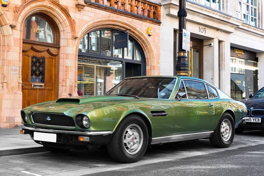 This Aston Martin V8 Vantage Is A True British Classic Aston Martin Best Muscle Cars Aston Martin V8