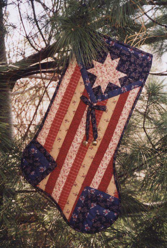 Patriotic stocking