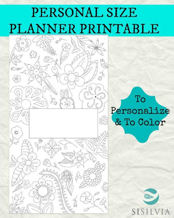Filofax Personal Refill Personal Planner Divider di SiSilvia