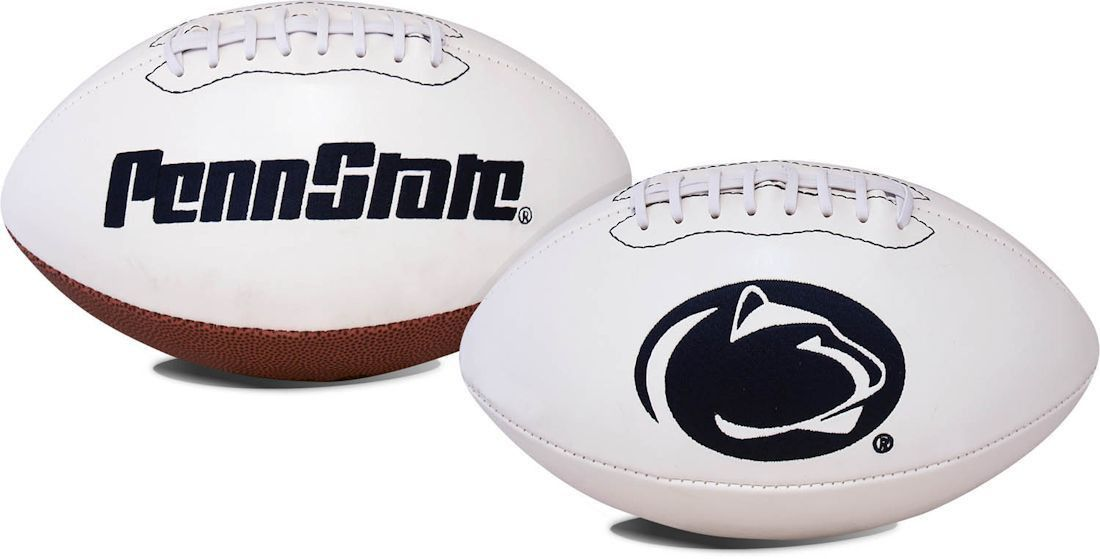 Penn State Nittany Lions Full Size Embroidered Signature