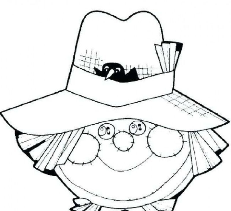 Large Scarecrow Coloring Page Scarecrow Coloring Page To Download And Coloring Here Is A Free C Batman Coloring Pages Coloring Pages Printable Coloring Pages