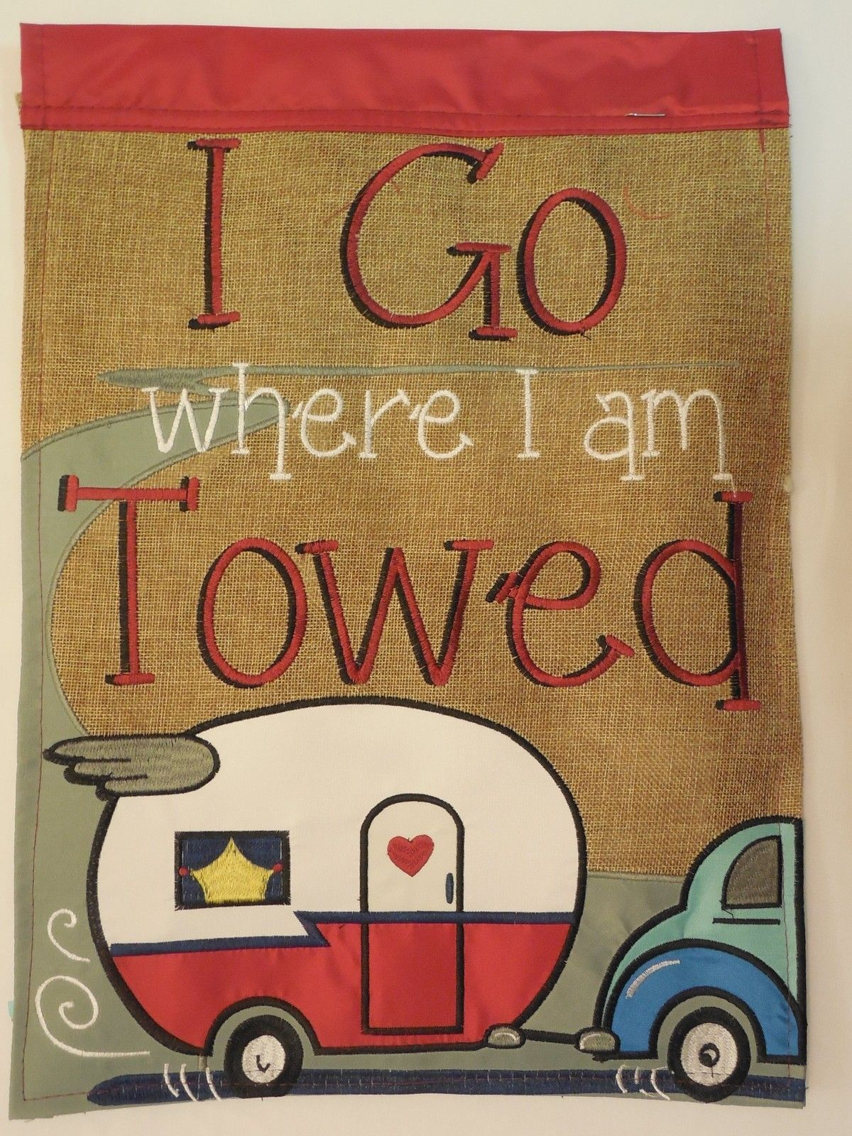 i go where i am towed\
