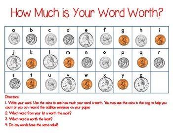 Word, Words & Worth