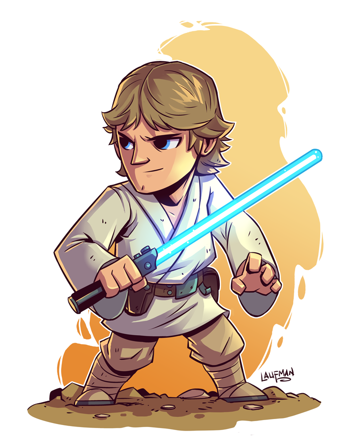 Chibi Luke Skywalker By Dereklaufman Deviantart Com On Deviantart