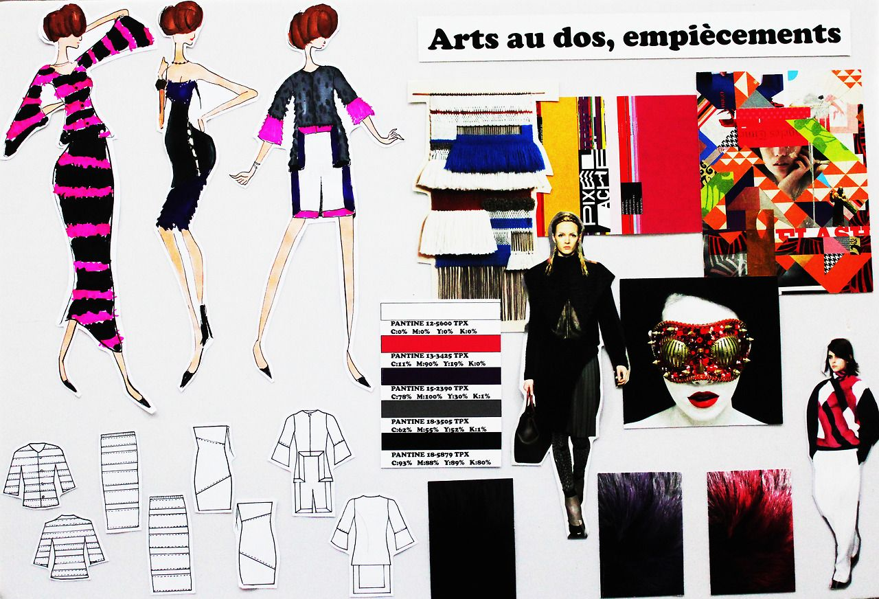 Arts Au Dos Moodboard By Ifa Paris Student In Bachelor Fashion Design Bachelor Fashion Fashion Design Drawings Fashion