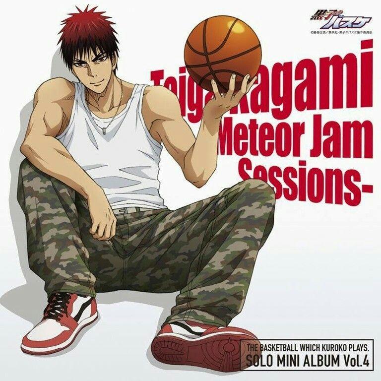 Kuroko No Basket Kagami Taiga 黒子のバスケ 火神 一年生