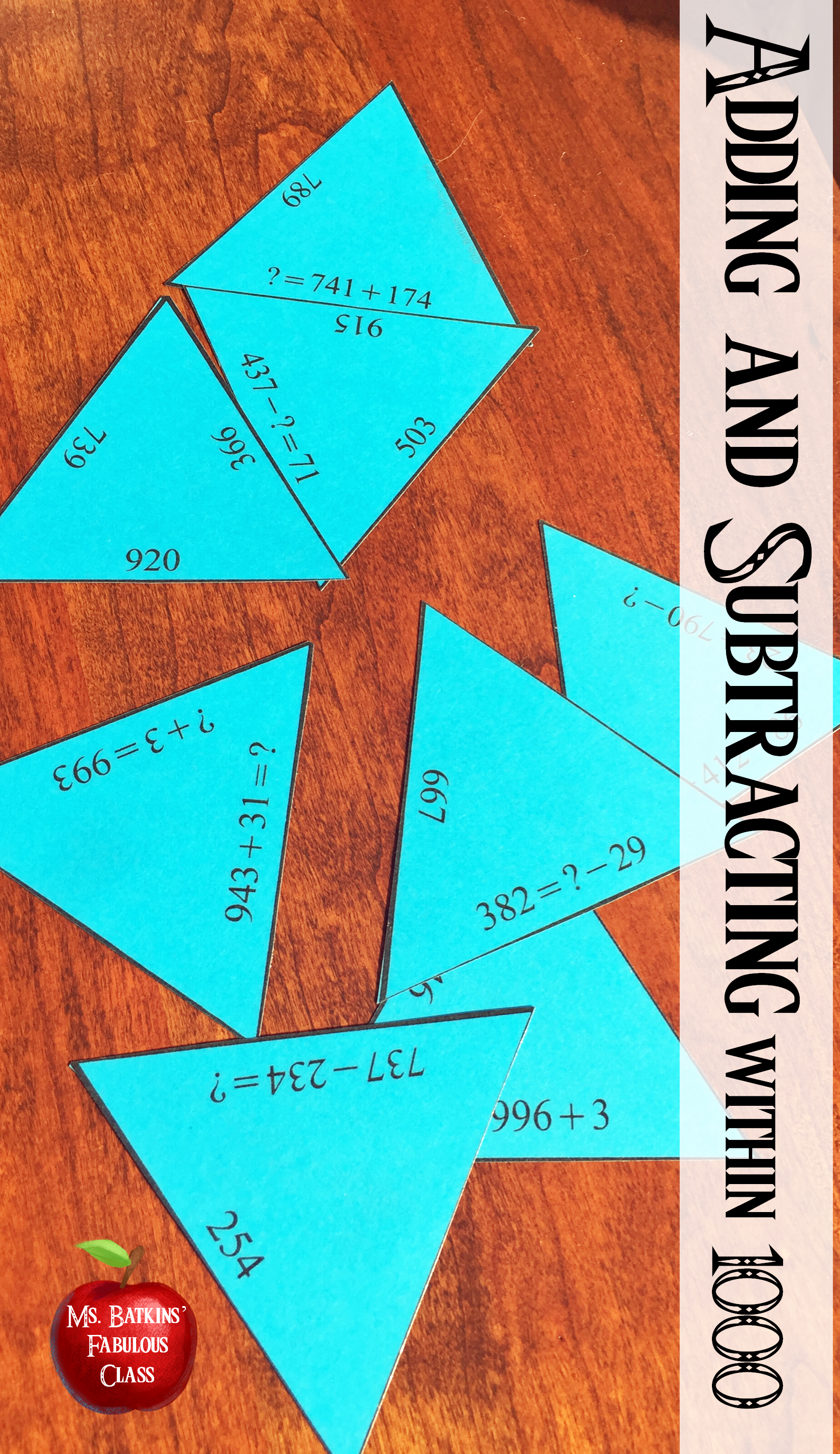 Adding And Subtracting Within Math Center 3 Nbt 2