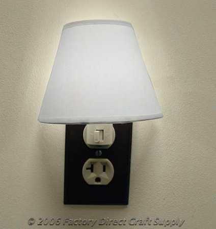 Muslin Lamp Shade And Night Light Kit Night Light Lamp Shade Lamp