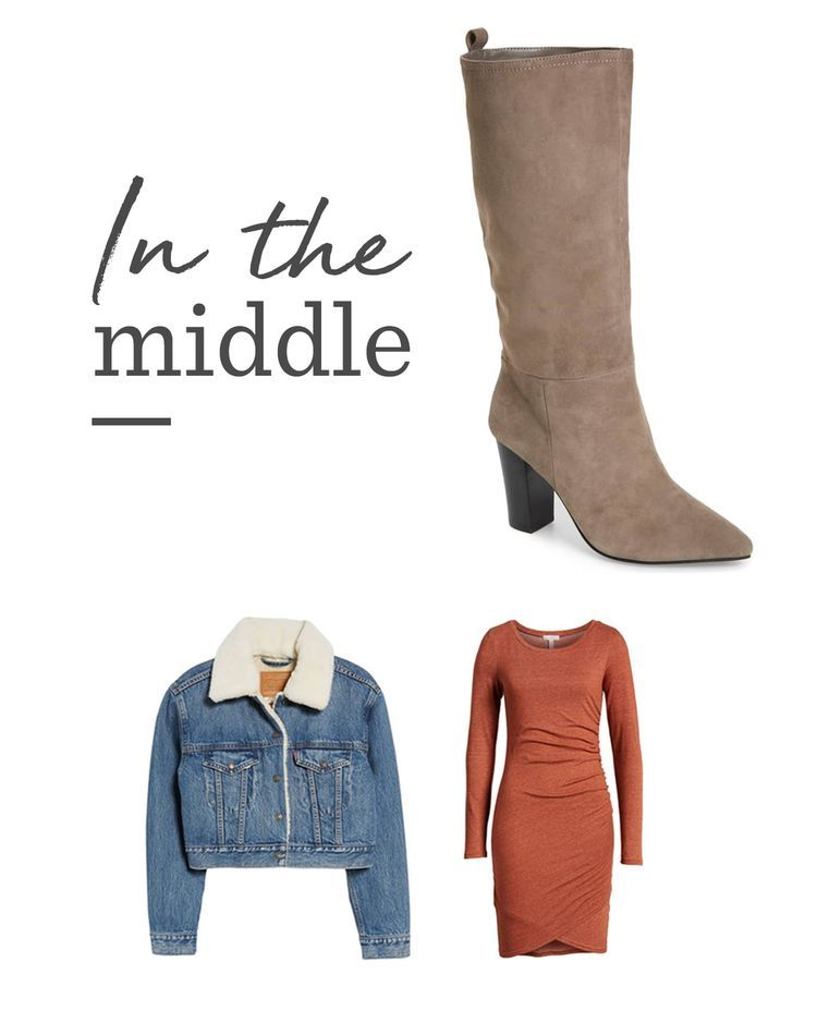 Breaking Down Fall's Must-Have Boots: Mid-rise Boots   Do invest in textured boots to elevate your look. Talk to your Trunk Club stylist about finding styles that are right for you. #fall #fallfashion #falldecor #fallrecipes #falloutfits