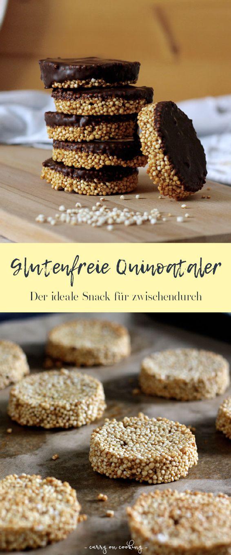 Glutenfreie Quinoataler - der ideale Snack für zwischendurch #glutenfreierezepte