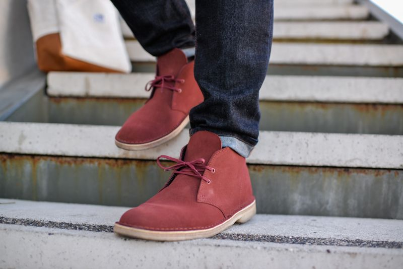 183236085c999 Clarks Terracotta Suede Desert Boot   Atlas and Mason   HIS STYLE ...