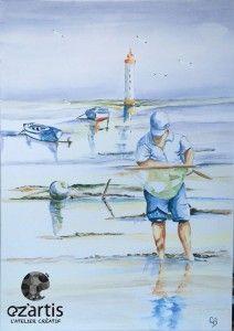 Ozartis La Rochelle Dessin Copie Aquarelle Claudie Pecheur Avec