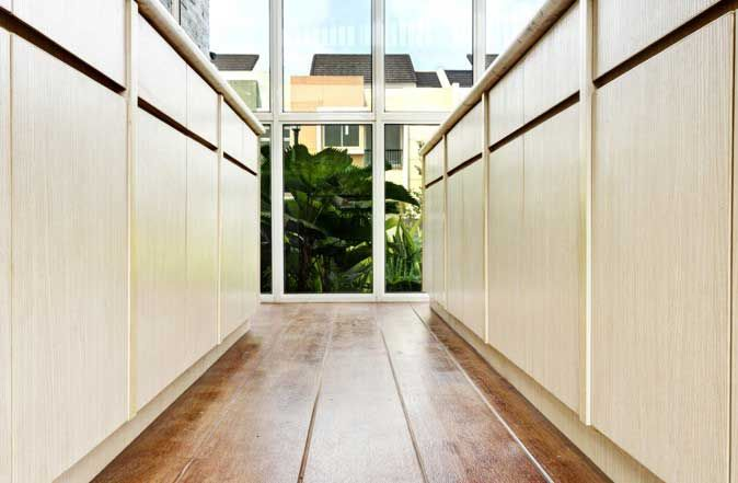 Conwood indonesia canary summarecon conwood deck 6 as hallway floor