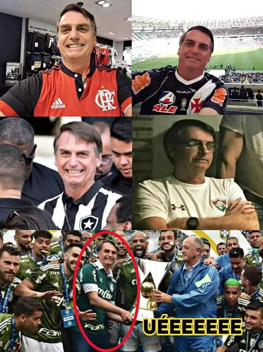 Vira a casaca, Mó 171. No Rio Flamengo, Vasco, Botafogo