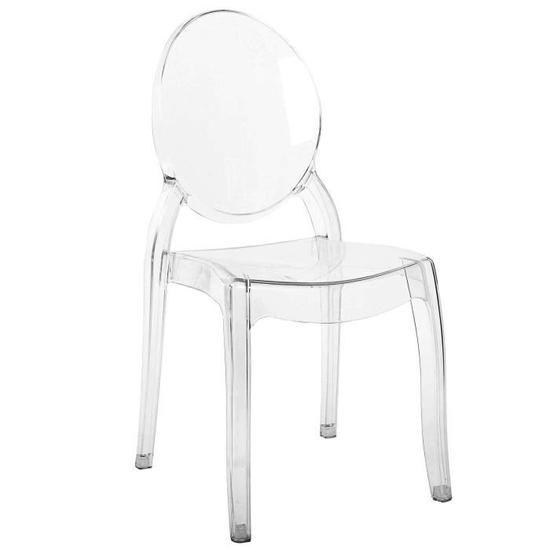 Lot De 4 Chaises Transparentes En Plexi Tolga Chaise Transparente Chaise Chaise Polycarbonate