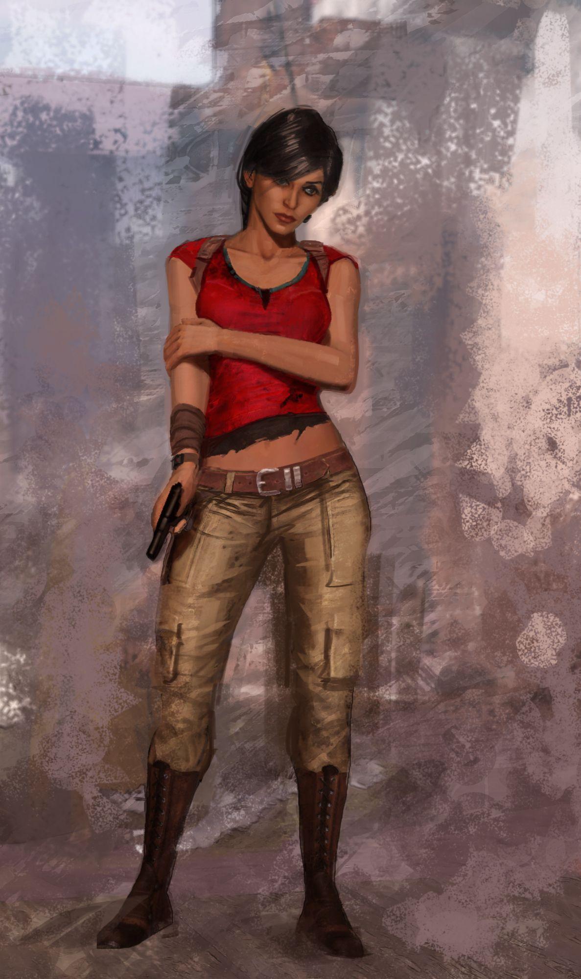 Chloe Frazer - Uncharted | Games | Pinterest | Chloe, Wallpapers ...