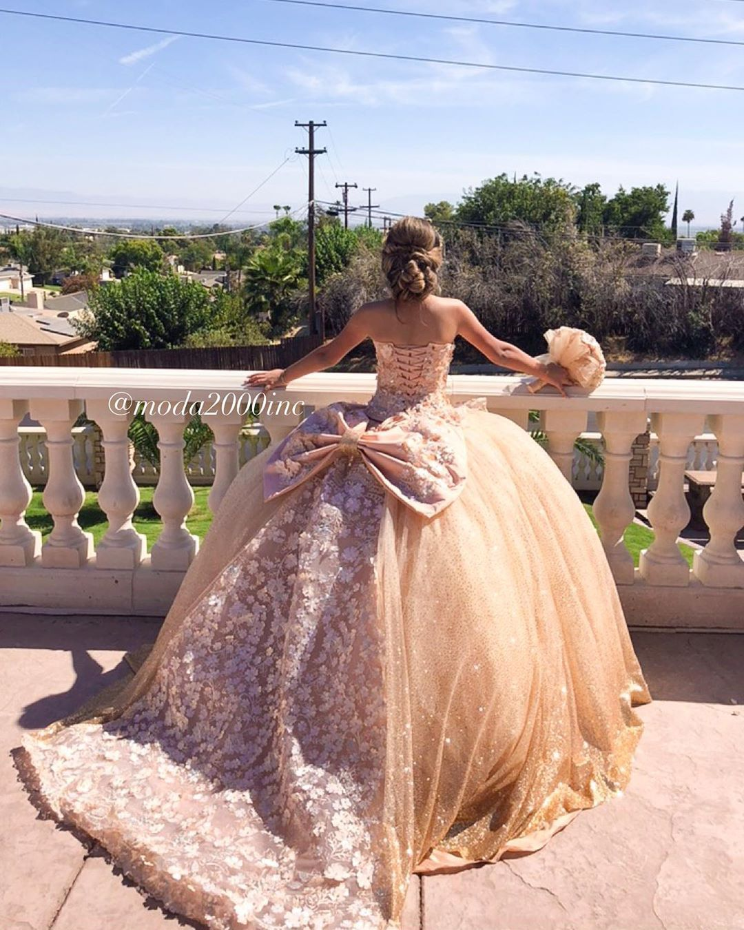 Moda 2000 On Instagram We Are Obsessed With This Queen Thank You For Saying Yes Moda2 Quinceanera Dresses Pink Quince Dresses Pretty Quinceanera Dresses [ 1350 x 1080 Pixel ]