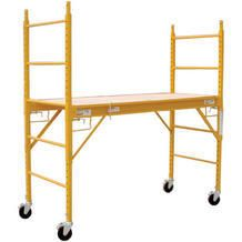 Ims 6 Steel Rolling Utility Scaffold From Menards 89 99 Scaffolding Menards Homemade Tools
