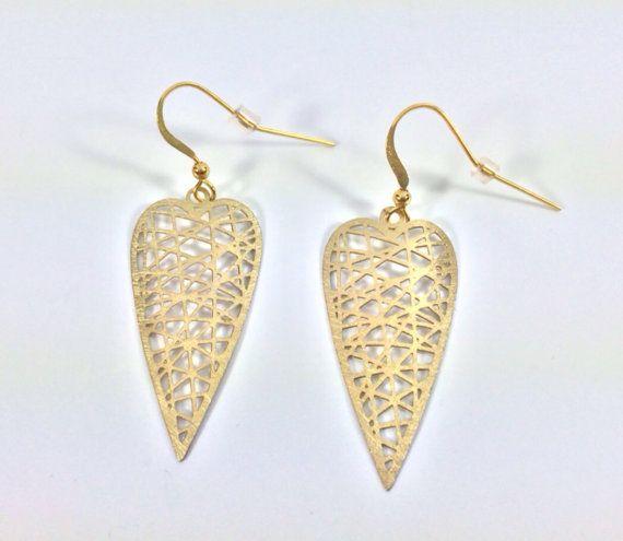 Stainless steel geometric drop earrings jewelry hypo-allergenic jewelry