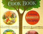 Vintage cookbook kitsch .. BETTY CROCKERs OUTDOOR Cookbook ...