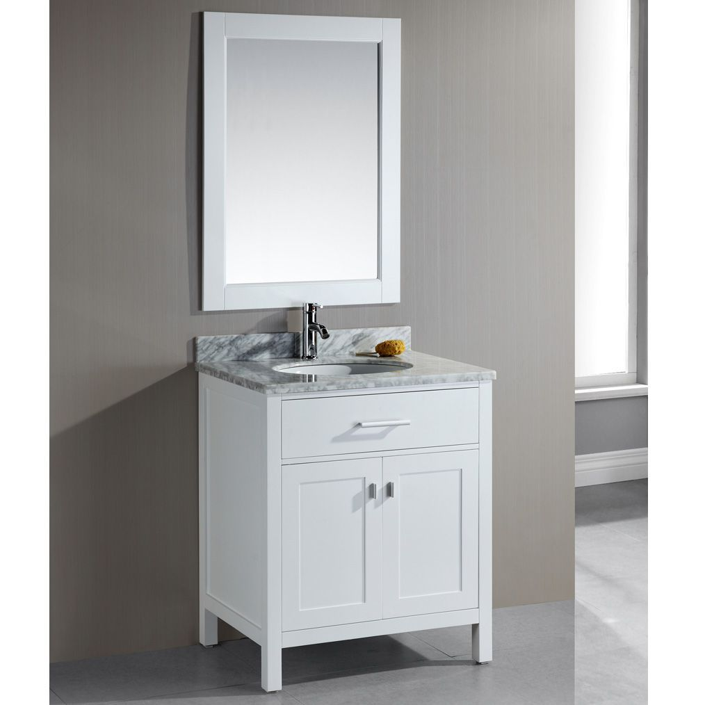 Best The London 30 Inch Single Sink Vanity Set Is Constructed 400 x 300