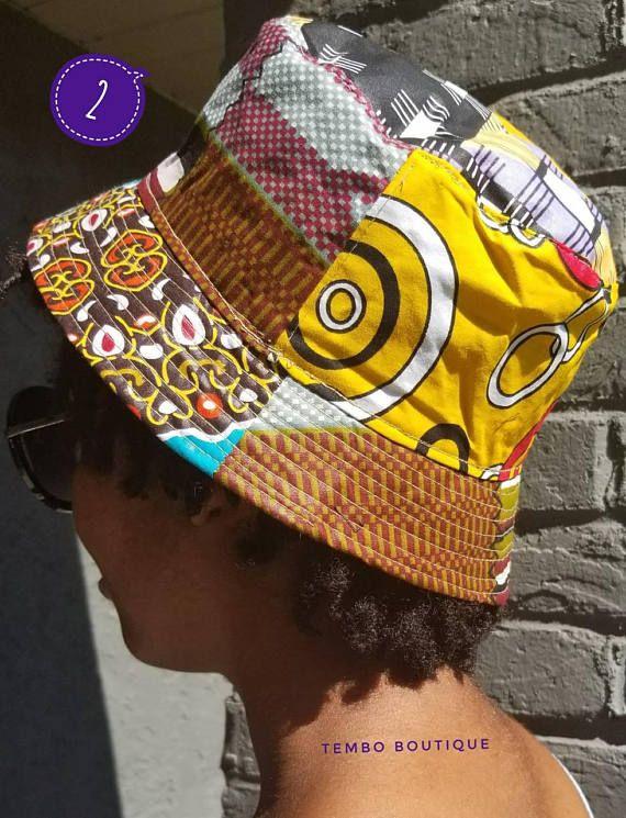 706f0c2deaa African Print Kitenge Bucket Hat - Handmade Hats - Made in Kenya ...
