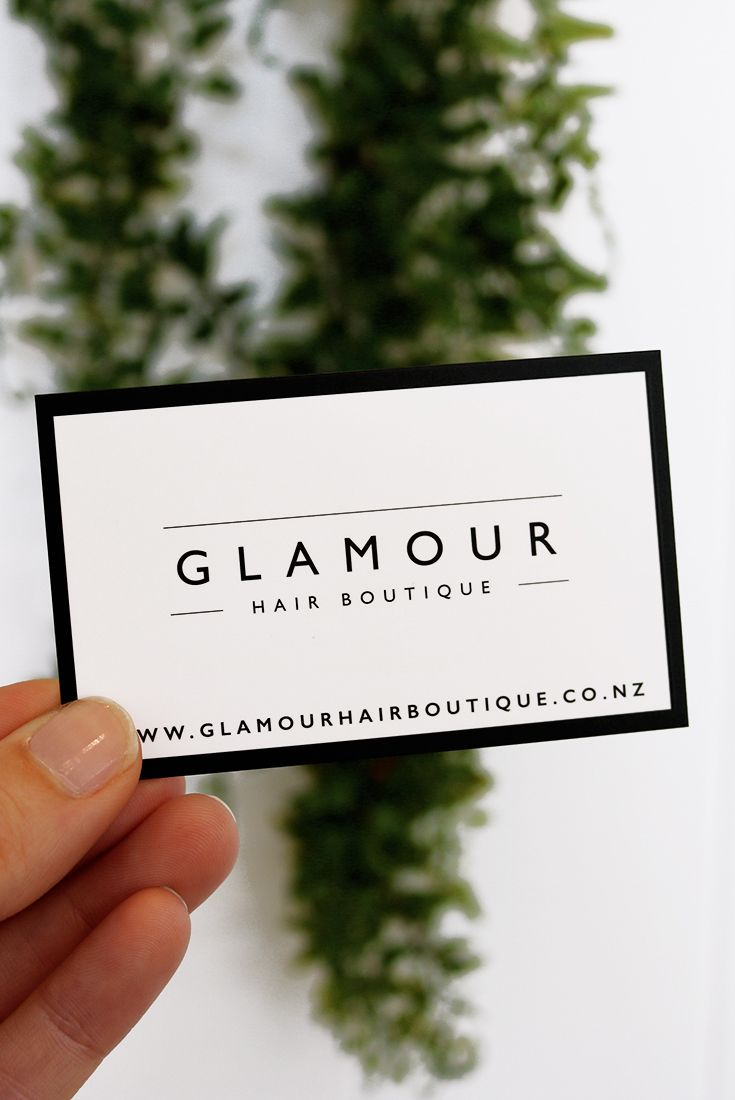 Business card for glamour hair boutique a salon located in albany business card for glamour hair boutique a salon located in albany auckland new zealand designed styled and photographed by desig reheart Image collections