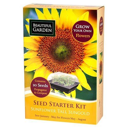 Sunflower Seed Starter Kit Seed Starter Kit Seed Starter Starter Kit