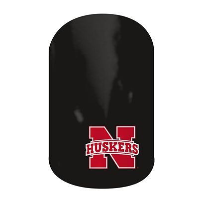 Nebraska Huskers nail wraps by Jamberry Nails #nailart #nailwraps #manicure #pedicure #nails #jamberry #nebraska #huskers #nebraskahuskers