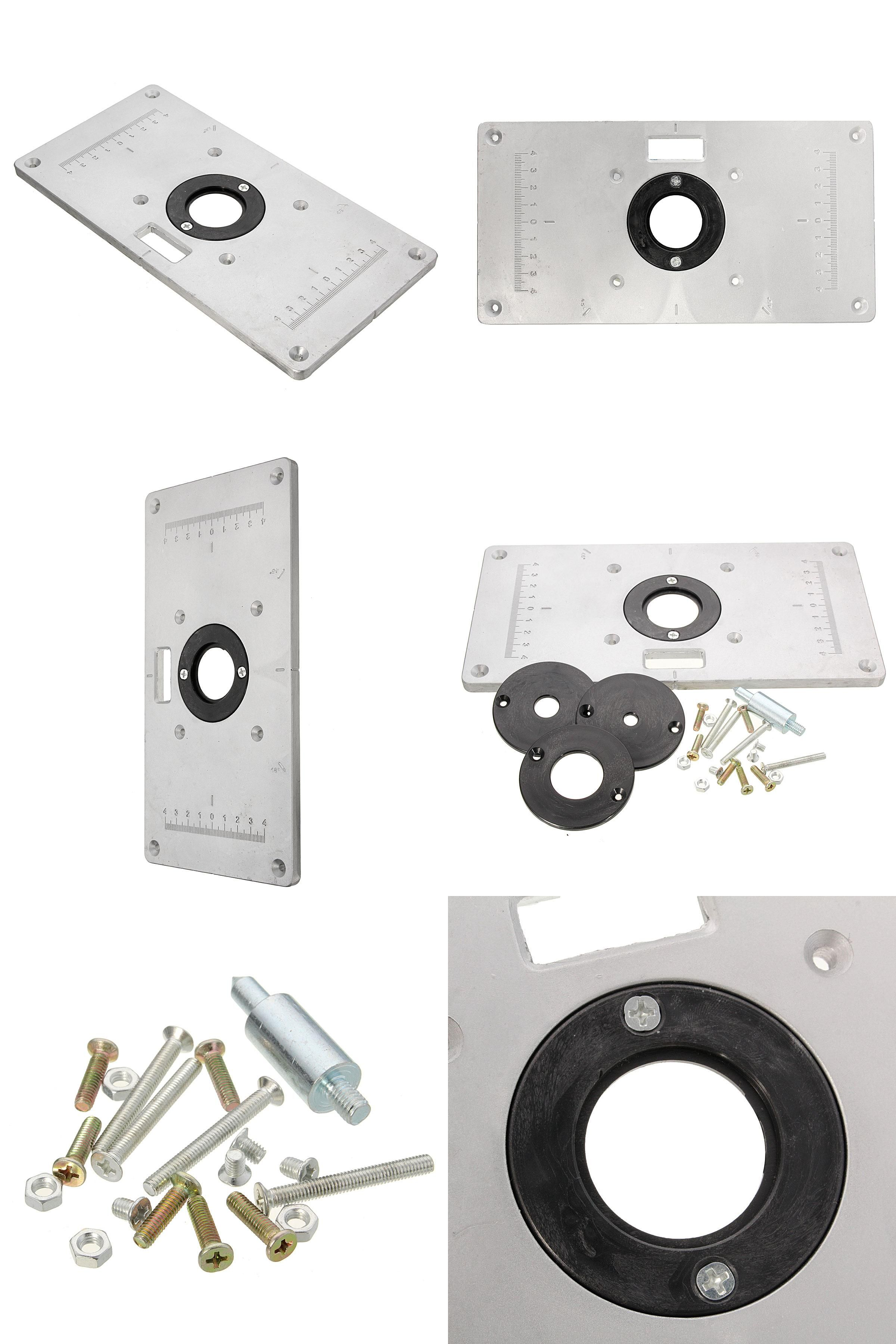 Diy router table insert plate -  Visit To Buy High Quality 1pc 235mm 120mm 8mm Router Table Insert