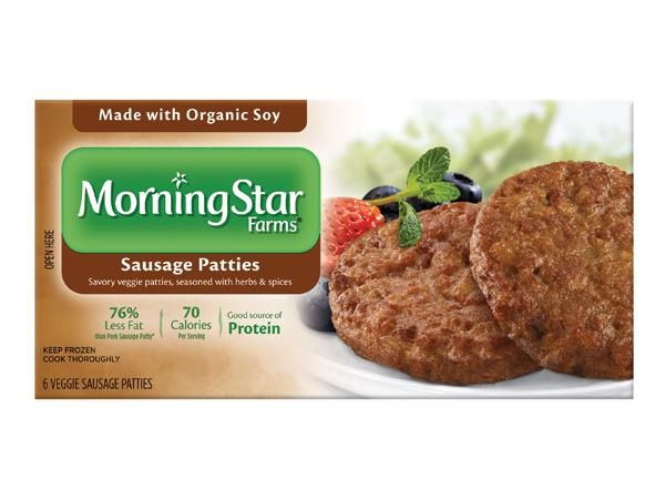 100 Cleanest Packaged Food Awards 2014: MorningStar Farms Sausage Patties Made with Organic Soy http://www.prevention.com/food/healthy-eating-tips/100-cleanest-packaged-food-awards-2014-breakfast?s=5