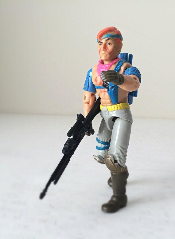 80s GI Joe Action Figure, Zandar Cobra Dreadnok, 1986 ...