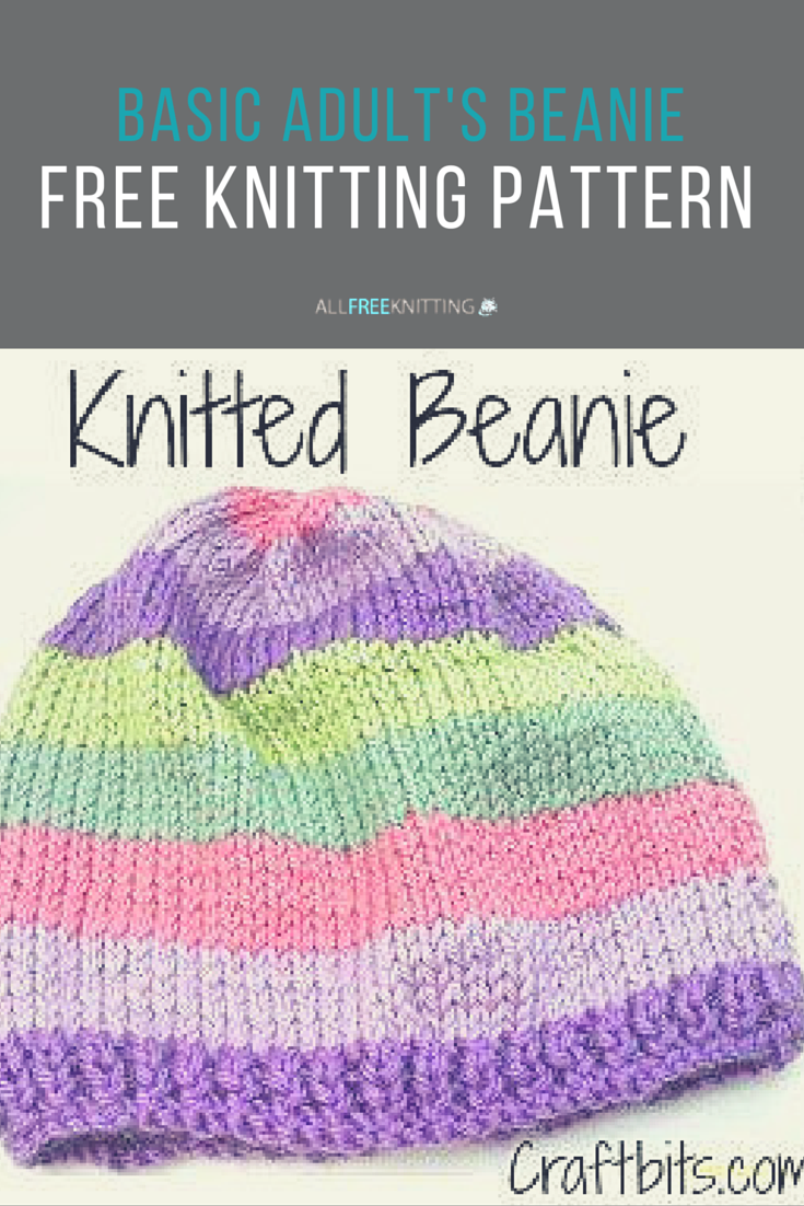 How to Knit a Hat   Knit beanie pattern, Knitting for ...